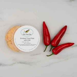 Smoked Trout Pate with Chili